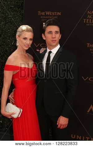LOS ANGELES - MAY 1:  Billy Flynn at the 43rd Daytime Emmy Awards at the Westin Bonaventure Hotel  on May 1, 2016 in Los Angeles, CA