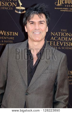 LOS ANGELES - MAY 1:  Vincent Irizarry at the 43rd Daytime Emmy Awards at the Westin Bonaventure Hotel  on May 1, 2016 in Los Angeles, CA