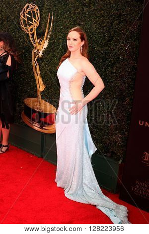 LOS ANGELES - MAY 1:  Camryn Grimes at the 43rd Daytime Emmy Awards at the Westin Bonaventure Hotel  on May 1, 2016 in Los Angeles, CA