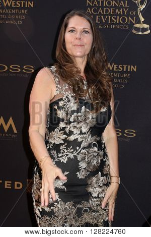 LOS ANGELES - MAY 1:  Cynthia J. Popp at the 43rd Daytime Emmy Awards at the Westin Bonaventure Hotel  on May 1, 2016 in Los Angeles, CA