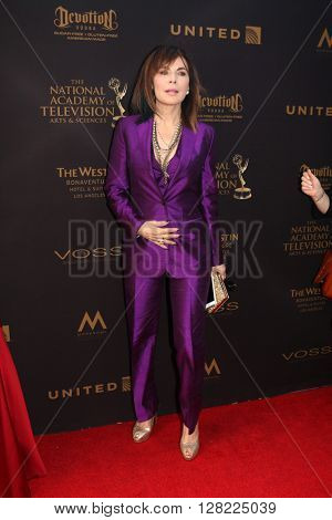 LOS ANGELES - MAY 1:  Lauren Koslow at the 43rd Daytime Emmy Awards at the Westin Bonaventure Hotel  on May 1, 2016 in Los Angeles, CA