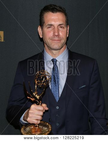 LOS ANGELES - MAY 1:  Frank Valentini at the 43rd Daytime Emmy Awards at the Westin Bonaventure Hotel  on May 1, 2016 in Los Angeles, CA