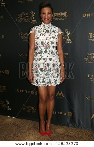 LOS ANGELES - MAY 1:  Aisha Tyler at the 43rd Daytime Emmy Awards at the Westin Bonaventure Hotel  on May 1, 2016 in Los Angeles, CA