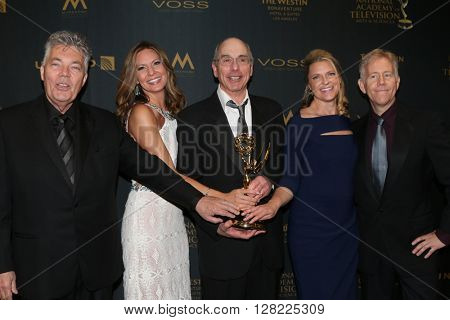 LOS ANGELES - MAY 1:  General Hospital Directing Team at the 43rd Daytime Emmy Awards at the Westin Bonaventure Hotel  on May 1, 2016 in Los Angeles, CA