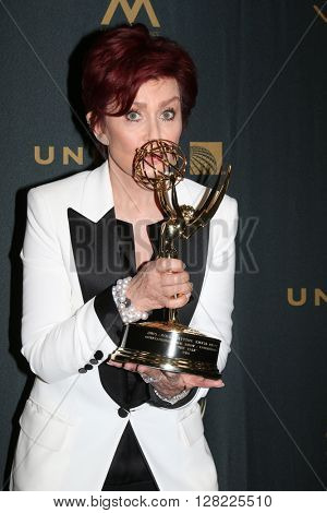 LOS ANGELES - MAY 1:  Sharon Osbourne at the 43rd Daytime Emmy Awards at the Westin Bonaventure Hotel  on May 1, 2016 in Los Angeles, CA