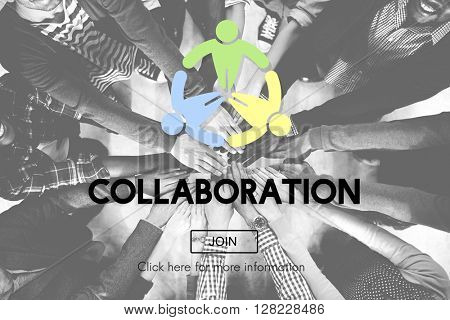 Collaboration Collaborate Connection Corpo?ate Concept