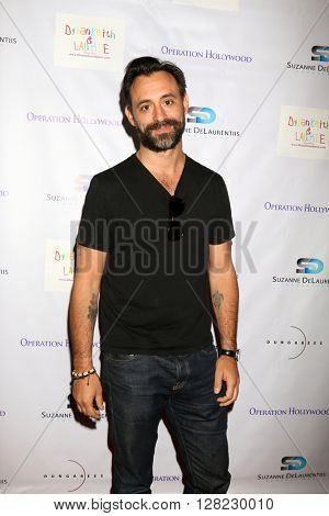 LOS ANGELES - APR 30:  Mark Bacci at the Suzanne DeLaurentiis Productions Gifting Suite at the Dylan Keith Salon on April 30, 2016 in Burbank, CA