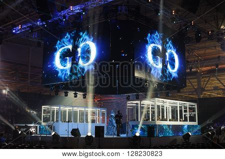 arena stage LAN final WePlay League Season 3 Dota 29 April - 1 May Kiev Ukraine
