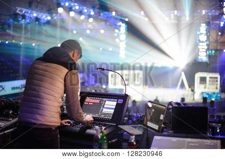 sound light setting LAN final WePlay League Season 3 Dota 29 April - 1 May Kiev Ukraine