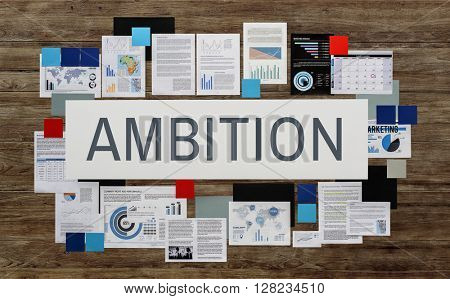 Ambition Courage Discovery Dream Finding Future Concept