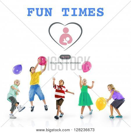 Fun Times Activity Enjoyment Funny Happy Joyful Concept