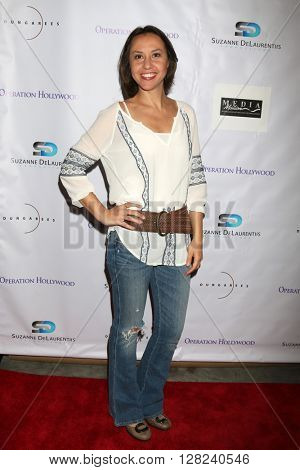 LOS ANGELES - APR 30:  Karina Frederico at the Suzanne DeLaurentiis Productions Gifting Suite at the Dylan Keith Salon on April 30, 2016 in Burbank, CA