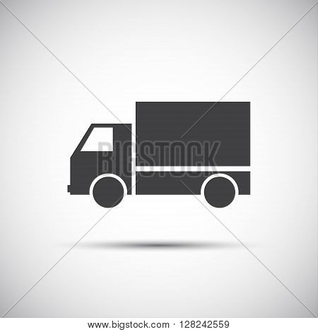 Simple vector pickup icon illustration for your website print and infographic