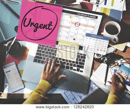 Urgent Prioritize Urgency Planner Concept