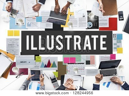 Illustrate Interaction Office Concept