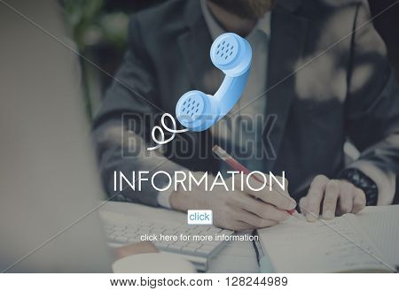 Information Content Data Communication Media Concept