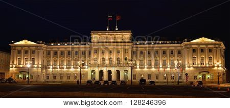 The Legislative Assembly Building In St. Petersburg