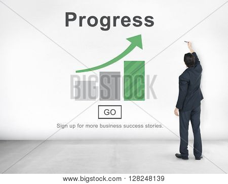 Progress Development Improvement Advancement Concept