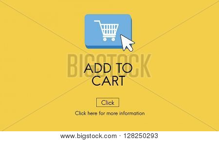 Add to Cart Commerce Internet Shopping Digital Concept
