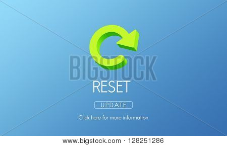 Reset Restart Back Beginning Concept