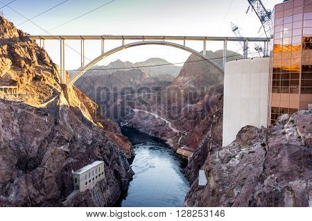 Mike O'callaghan–pat Tillman Memorial Bridgeover Colorado River