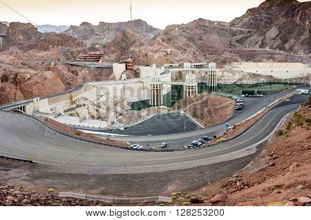 Hydroelectric Power Plant Named Hoover Dam, Nevada