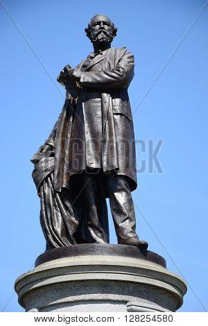 James Garfield Monument in Washington, DC (USA)