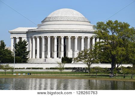 The Thomas Jefferson Memorial in Washington, DC (USA)