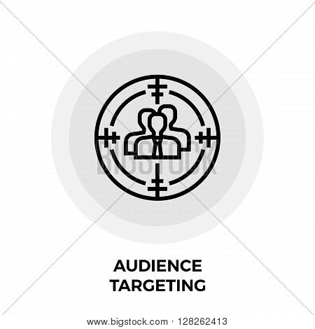 Audience Targeting Icon Vector. Audience Targeting Icon Flat. Audience Targeting Icon Image. Audience Targeting Line icon. Audience Targeting Icon JPEG. Audience Targeting Icon EPS