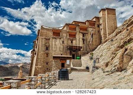 Leh palace. Ladakh, Jammu and Kashmir, India