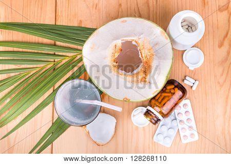 Coconut  Juice Helps Lower Blood Pressure, Diabetic, Metabolism, Digestion