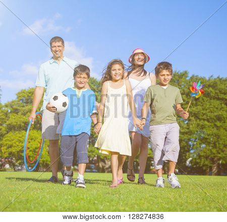 Family Walking Park Concept