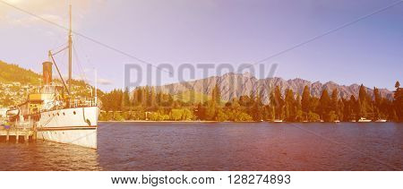 Ship Boat Cruise Vessel Nautical Sea Ocean Nature Concept
