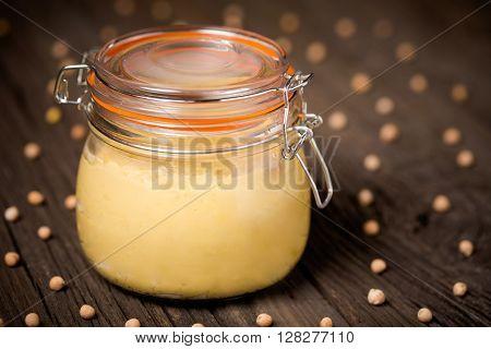 Natural Diy Homemade Healthy Hummus