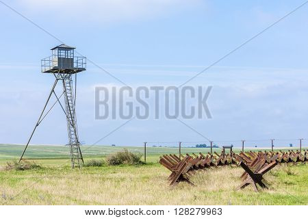 patrol tower near Satov, Czech Republic