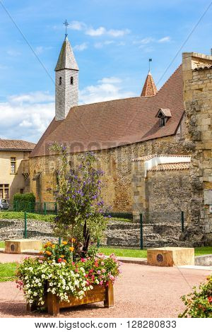 Charlieu abbey, Department Loire, Rhone-Alpes, France