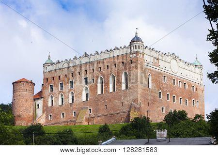 Castle in Golub Dobrzyn, Kuyavia-Pomerania, Poland