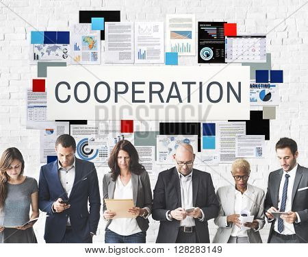 Cooperation Support Team Partnership Concept