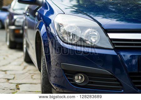 Rent Car Headlights