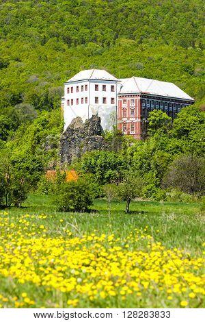 Milesov Palace, Ceske stredohori, Czech Republic
