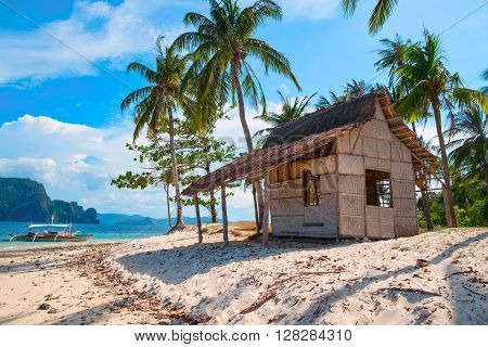 Tropical island landscape, Palawan, Philippines, Southeast Asia