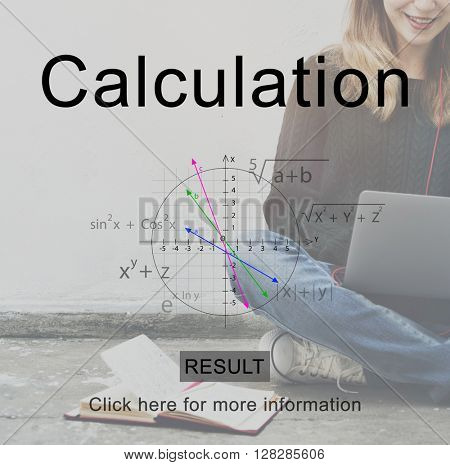 Collage Education Calculation Concept