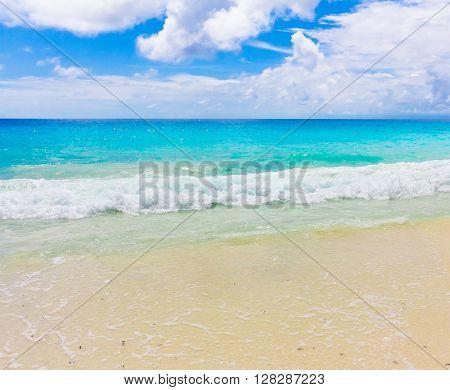 Splashing Beach Tide