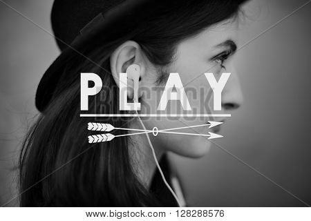 Play Music Audio Media Enjoy Concept