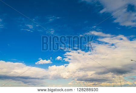 Summer Heavens Cloudy Outdoor