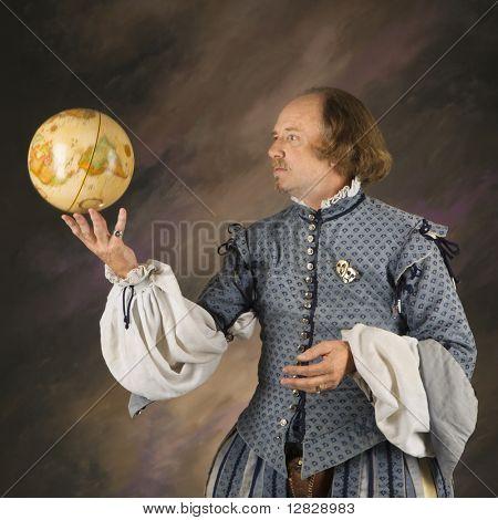 William Shakespeare im Zeitraum Kleidung Betrieb Spinnerei der Welt.