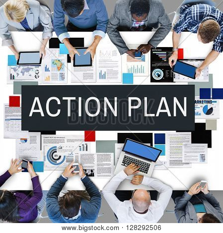 Action Plan Process Strategy Vision Concept