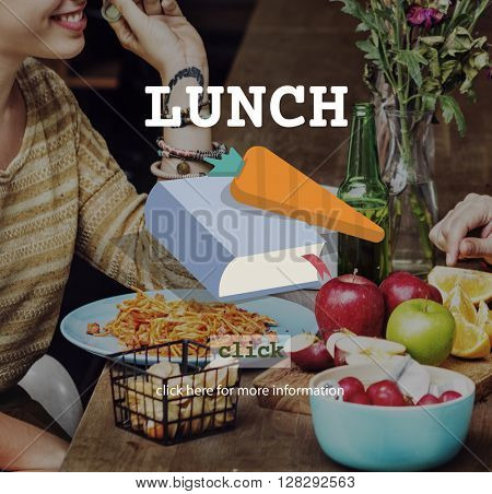 Lunch Meal Healthy food Cook Lifestyle Concept