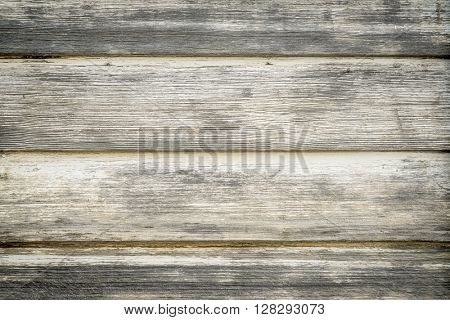 texture of old weathered wood house siding painted white