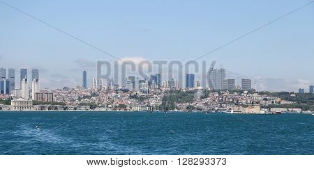 Besiktas District In Istanbul City